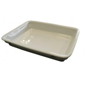 Assiette Porcelaine rectangulaire