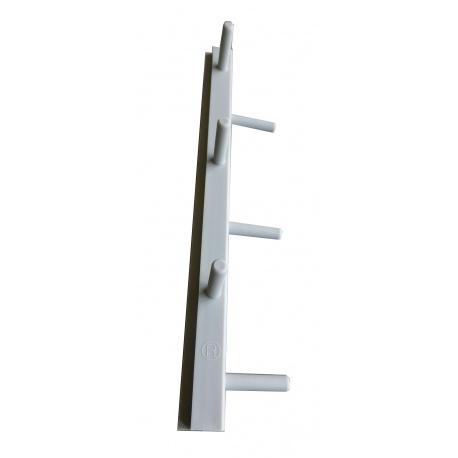 Barrette d'angle droite (R)