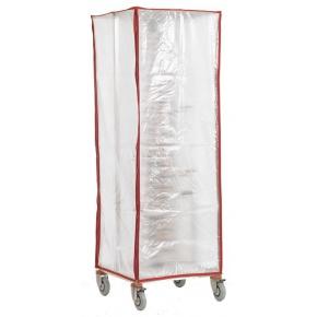 Housse de protection pour chariots à grilles 20 niveaux 60 X 40