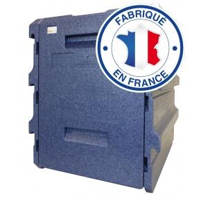 Coffre Isotherme PPE 10 niveaux 40 x 60 BLEU