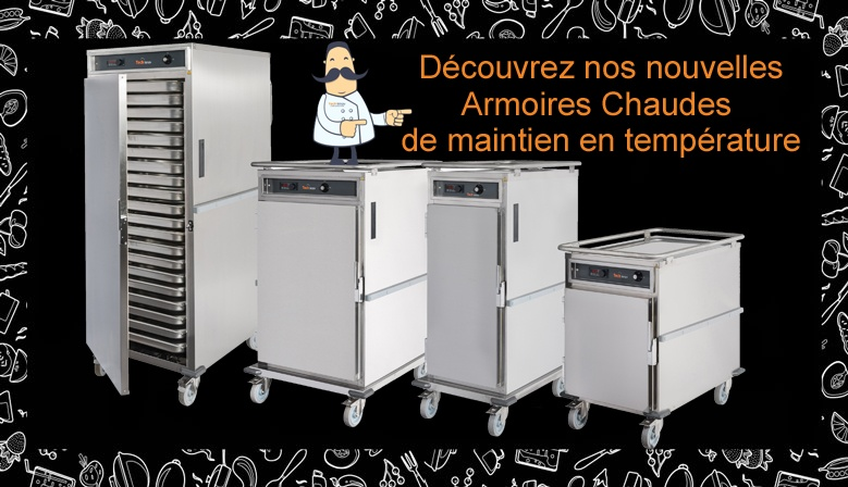Armoires maintien en temperature