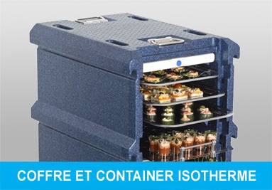 Coffre isotherme. Conteneur isotherme